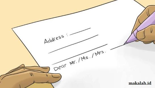 Contoh Surat Lamaran Kerja Umum Di Pabrik Dan Bank Yang Baik Dan Benar