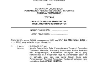 Contoh Surat Serah Terima Jabatan perusahaan