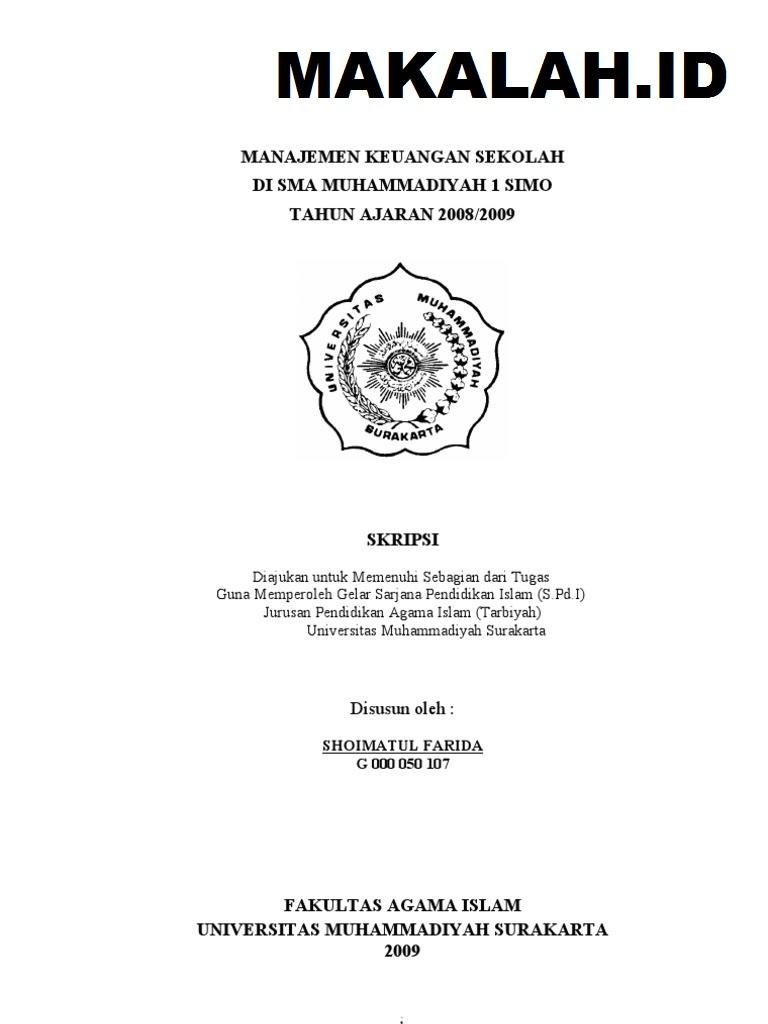 Contoh Skripsi Akuntansi Syariah Contoh Soal Pelajaran Puisi Dan Pidato Populer