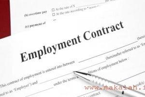 contoh surat perjanjian kerja karyawan tetap